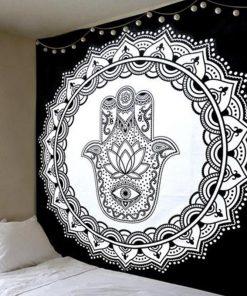 Wandbehang Fatma's Hand Mandala