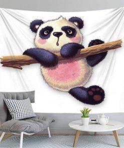 Panda Wandbehang