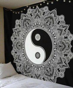 Wandbehang Yin Yang Mandala II